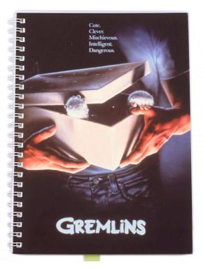Libreta Cuaderno A5 Gremlins