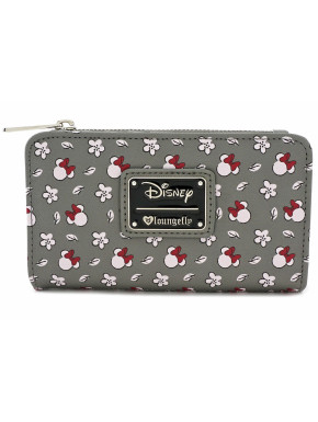 Cartera Loungefly Flores Disney Minnie Mouse