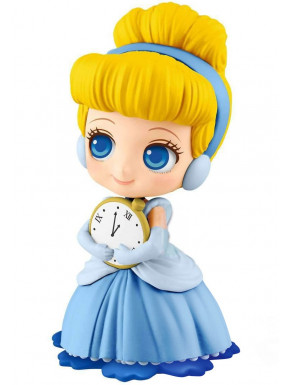 Figura Cenicienta con Reloj Reloj Disney Banpresto Q Posket 14 cm