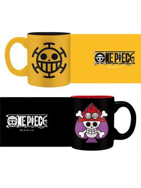 Set de 2 Mini Tazas One Piece Symbols