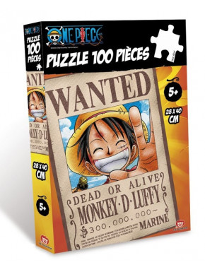 Puzzle Luffy One Piece Wanted
