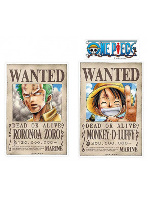 Pegatinas Luffy & Zoro One Piece