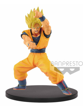 Figura Goku Saiyan Dragon Ball Super 16 cm Banpresto