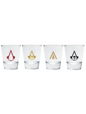 Vasos Chupito Assassin´s Creed