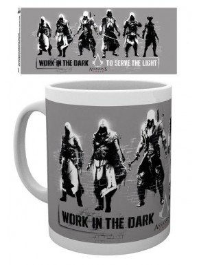 Taza Assassin's Creed Work in the dark to serve the light