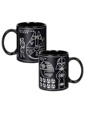 Taza XL Star Wars Millenium Falcon
