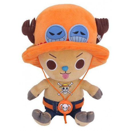 One Piece Peluche Chopper x Ace 20 cm