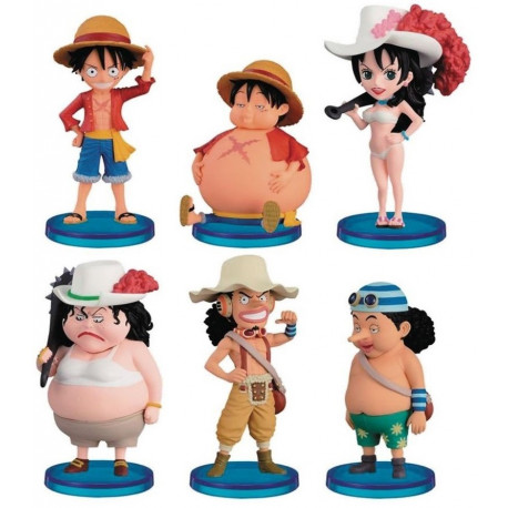 Figura Sorpresa One Piece Chibi Banpresto 7 cm