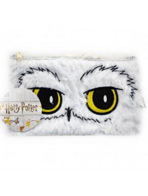 Estuche Portatodo Harry Potter Hedwig Peluche