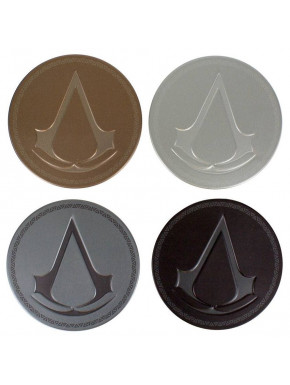 Set de 4 Posavasos Assassin's Creed