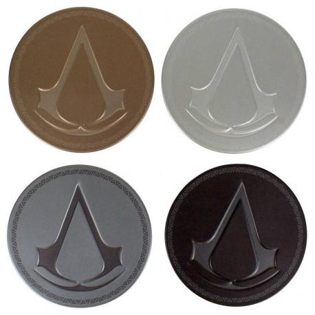 Set de 4 Posavasos Assassin's Creed