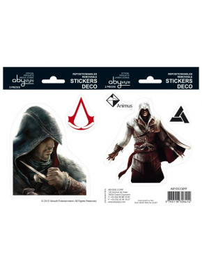 ASSASSIN'S CREED Stickers Ezio y Altaïr