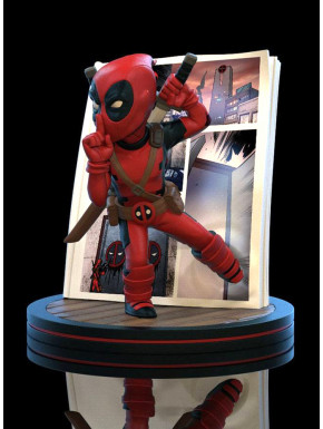Figura Deadpool Marvel Diorama Q-Fig 4D 10 cm