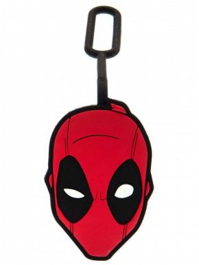 Marvel Identificador de equipaje Deadpool caucho
