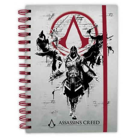 ASSASSIN'S CREED Cuaderno Legacy A5