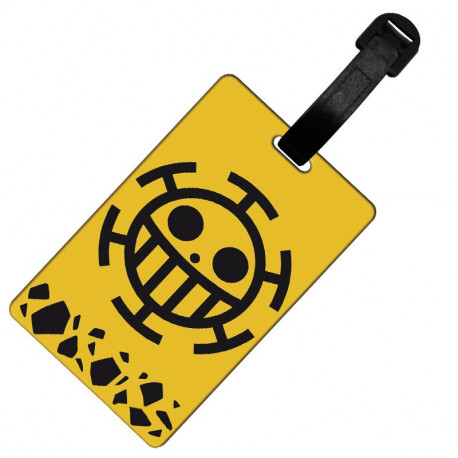 One Piece Etiqueta de equipaje Trafalgar Law