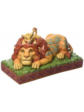 Figura Disney Simba y Mufasa Jim Shore El Rey León