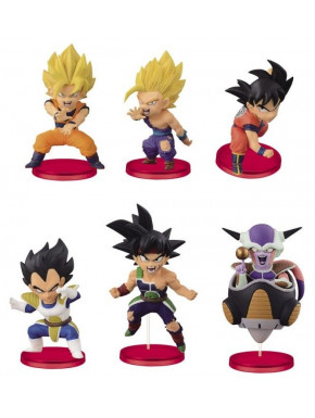 Figura Sorpresa Dragon Ball Saiyans Banpresto WCF