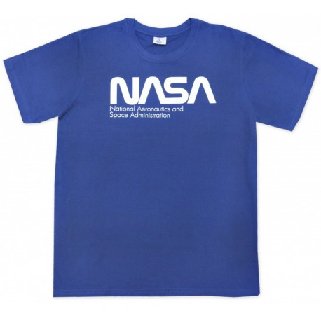 Camiseta Nasa Azul