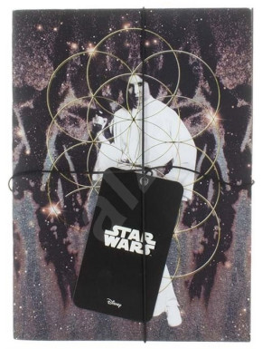 Set de 2 libretas Star Wars Vader y Leia