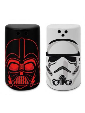 Salero & Pimentero Star Wars Vader y Trooper