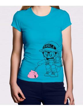 Camiseta Chica Arale y Caca Doctor Slump