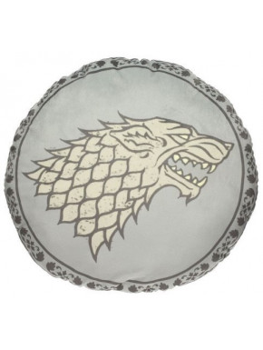 Cojin Stark Juego de Tronos Logo Gris