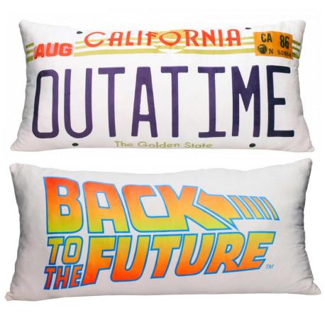 Cojín Regreso al futuro Out a time