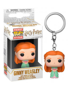 Llavero mini Funko Pop! Ginny Yule Ball Harry Potter