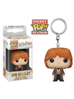 Llavero mini Funko Pop! Ron Yule Harry Potter