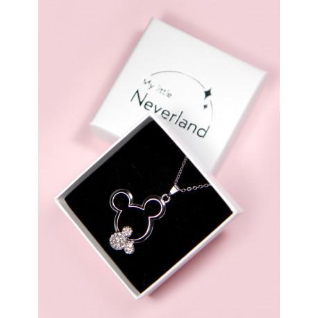 fotoColgante Mickey Mouse Acero y Circonitas