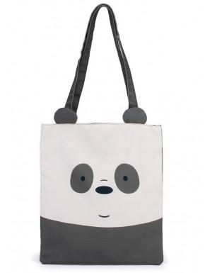 Bolsa de tela Somos Osos Panda