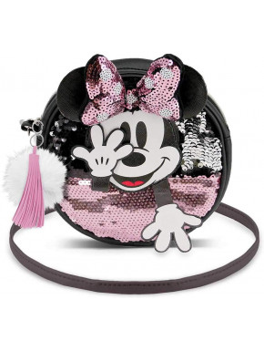 Bolso Redondo Minnie Mouse Disney Shy