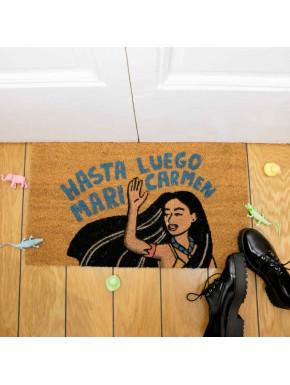 Felpudo Hasta luego Mari Carmen Moderna de Pueblo