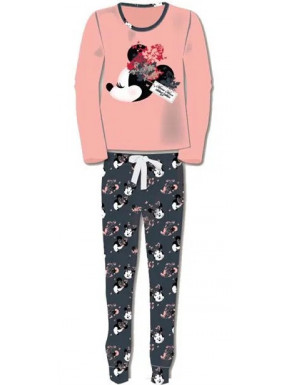Pijama Chica Minnie Mouse Disney Rosa