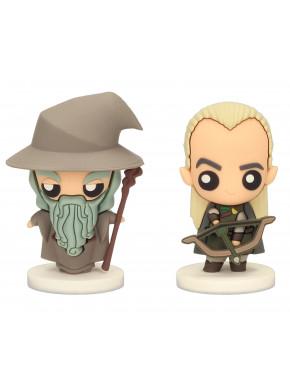 Set figuras Pokis Gandalf & Légolas El Señor de los Anillos