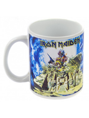 Taza Iron Maiden Somewhere Back in Time