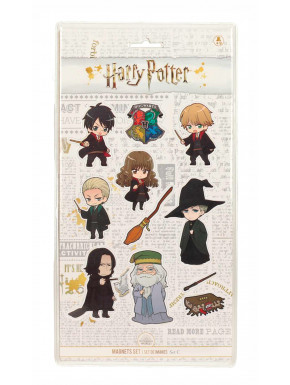 Set de imanes Harry Potter Kawaii
