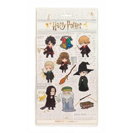 Set de imanes Harry Potter Kawaii