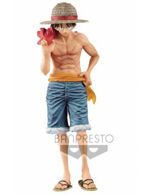 One Piece Estatua PVC Monkey D. Luffy 20 aniversario 22 cm