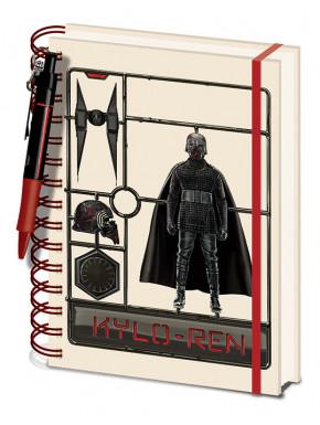 Set de Libreta y Bolígrafo Star Wars Kylo Ren