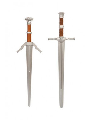 Espadas de espuma 1:1 The Witcher Acero y Plata
