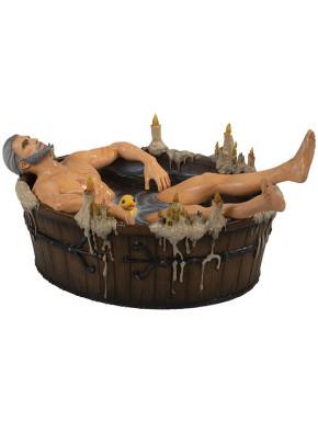 Figura Geralt en la bañera 9cm The Witcher