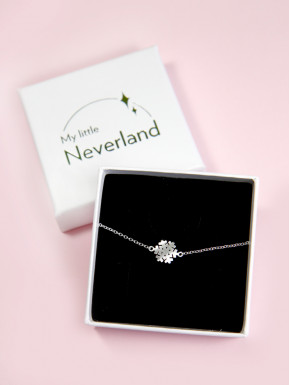 Pulsera Plata Frozen Disney My Little Neverland