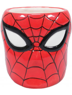 Taza 3D Spiderman Marvel