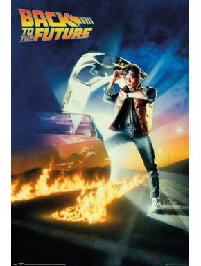 Póster Regreso al Futuro Marty McFly 61 x 91 cm