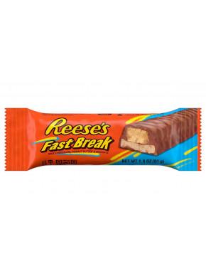 Reese's Fast Break Chocolate Crema de Cacahuete y Turrón