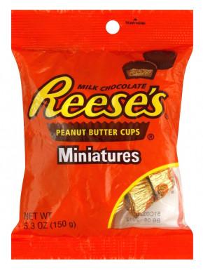 Reese's Mini Bombones de Mantequilla de Maní