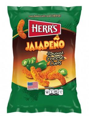 Snack sabor Jalapeño & Queso Herr's