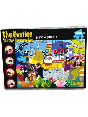 Puzzle The Beatles Yellow Submarine